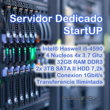 Servidor Dedicado StartUP